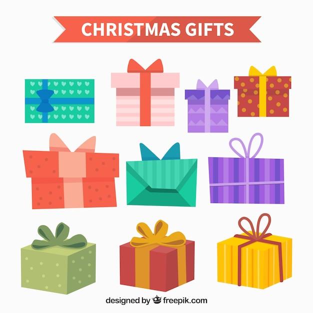 Disegni di scatole regalo