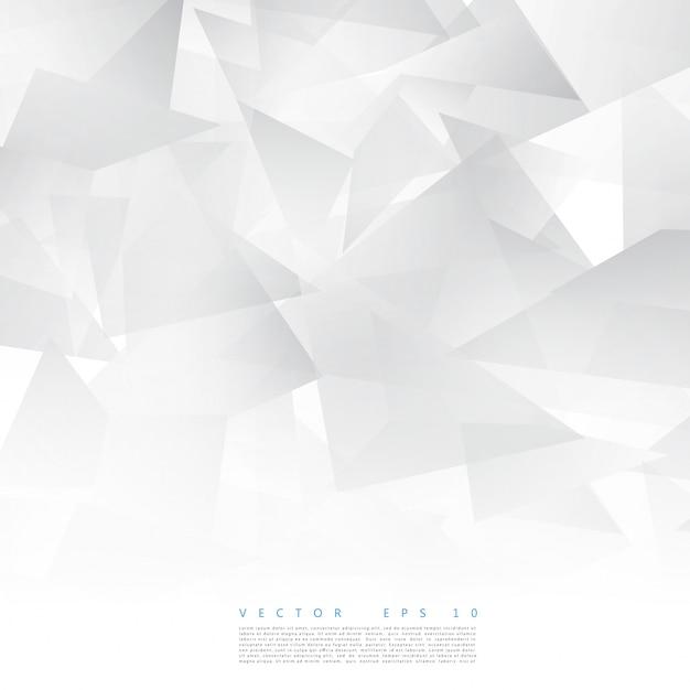 Vector astratto forma geometrica da triangolo grigio Vettore gratuito