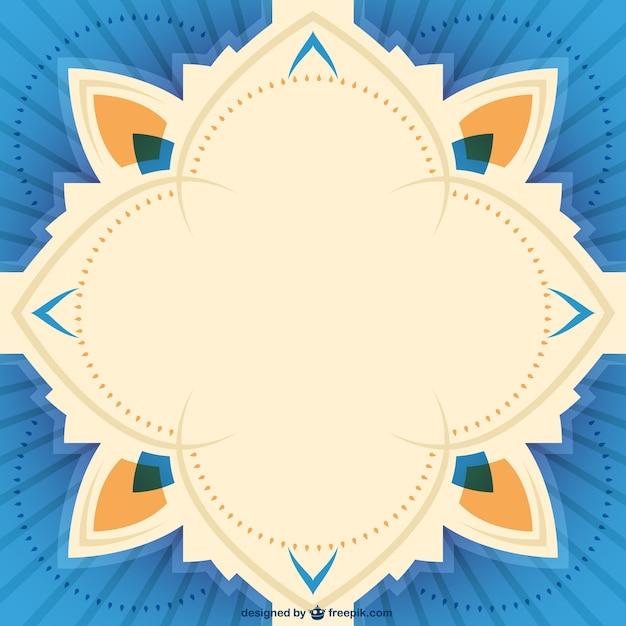 Vector frame simmetrica Vettore gratuito