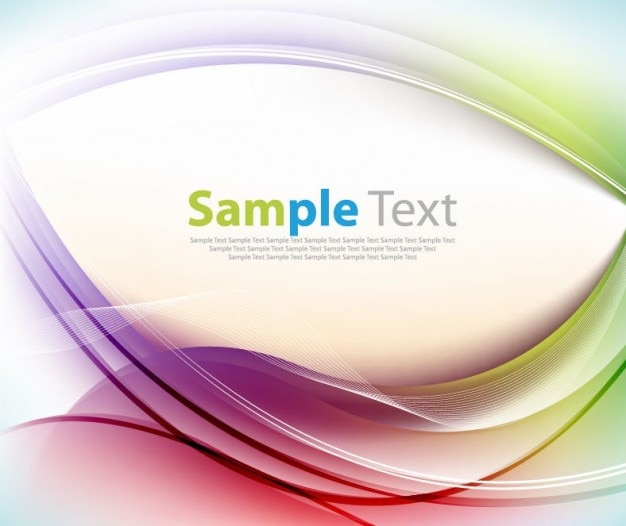 Vector graphic sfondo colorato Vettore gratuito