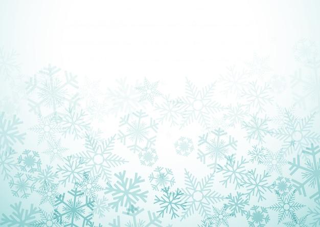 Vector inverno sfondo Vettore Premium