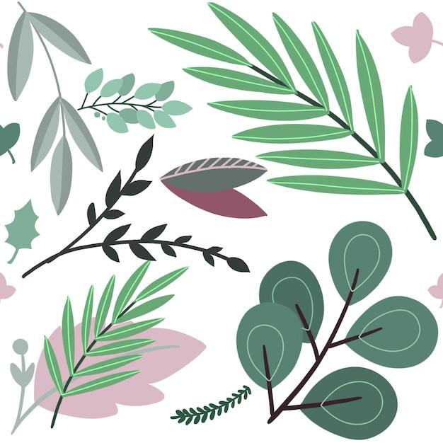 Vector l'illustrazione disegnata a mano di schizzo del fiore colorato estratto Vettore Premium