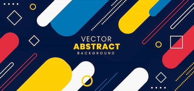 Vector sfondo astratto Vettore Premium