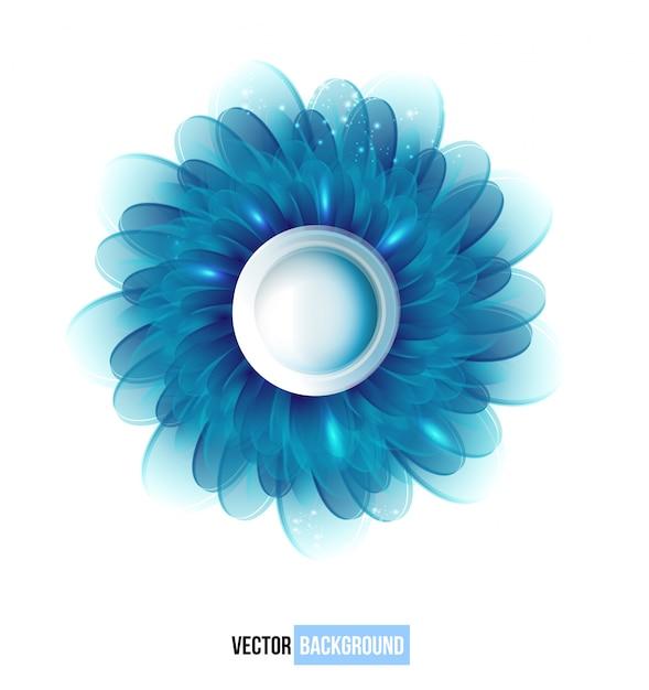 Vector vettore di fiori blu del crisantemo. Vettore gratuito