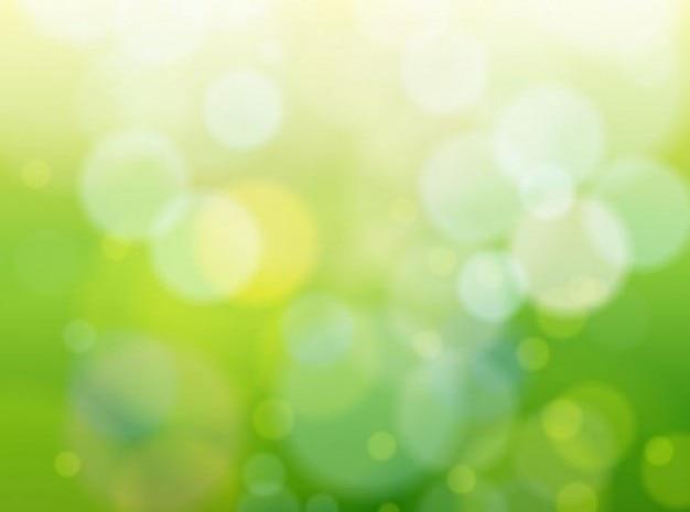 Verde Bokeh Natura Sfondo Lucido Scaricare Vettori Gratis