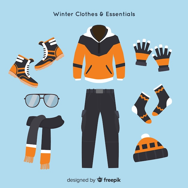 Vestiti invernali ed elementi essenziali  b25a0564c7b