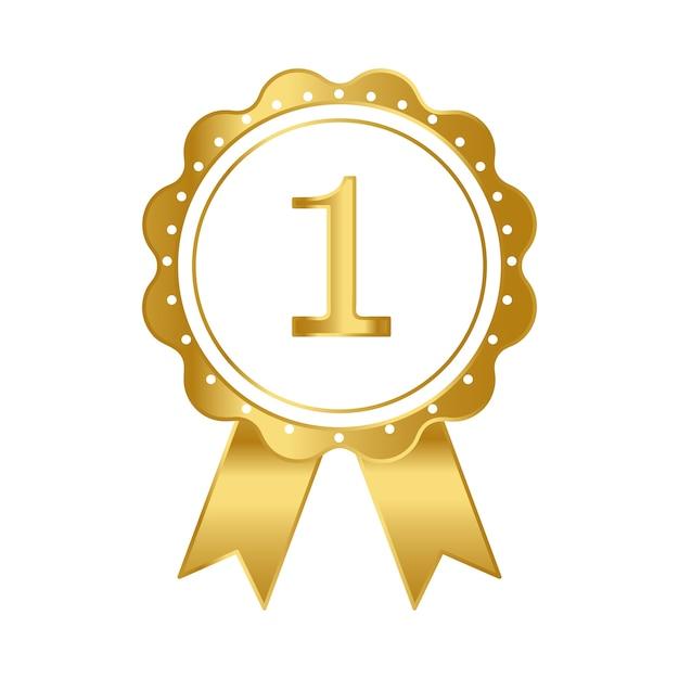 Vettore del premio nastro primo premio Vettore gratuito