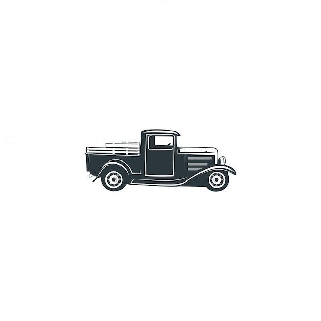Vettore di auto d'epoca Vettore Premium
