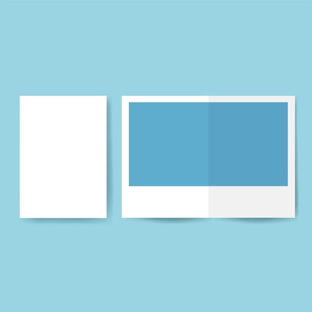 Vettore di mockup del modello di progettazione dell'opuscolo Vettore gratuito