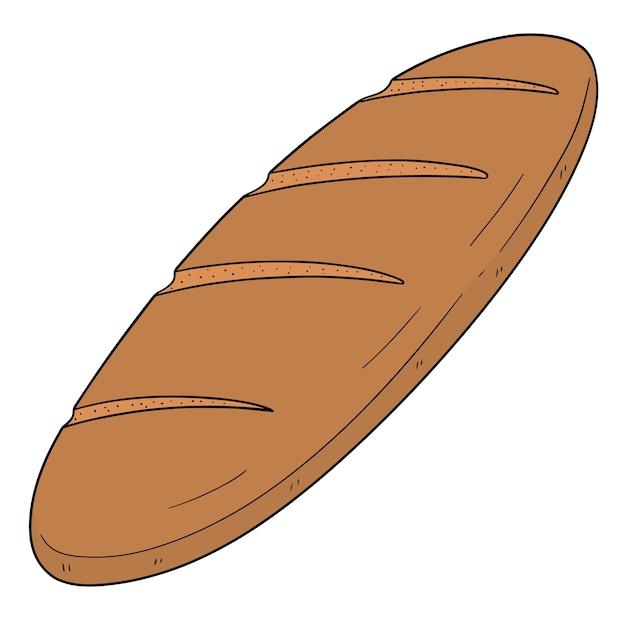 Vettore di pane Vettore Premium