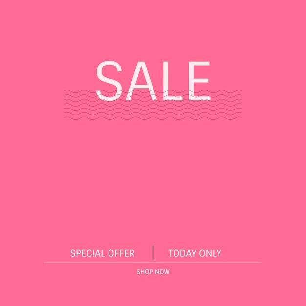 Vettore di segno di promozione offerta speciale di vendita Vettore gratuito