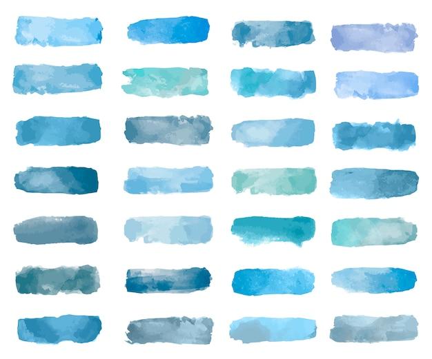 Vettore di sfondo colorato toppa acquerello Vettore gratuito