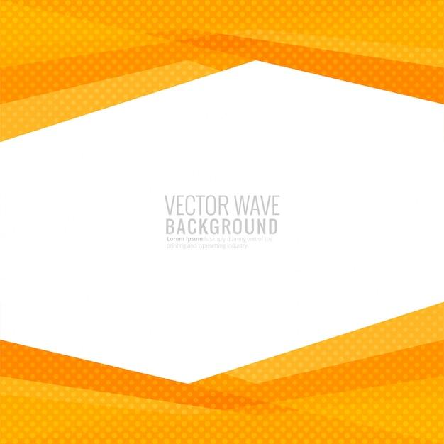 Vettore geometrico moderno della priorità bassa dell'onda Vettore gratuito