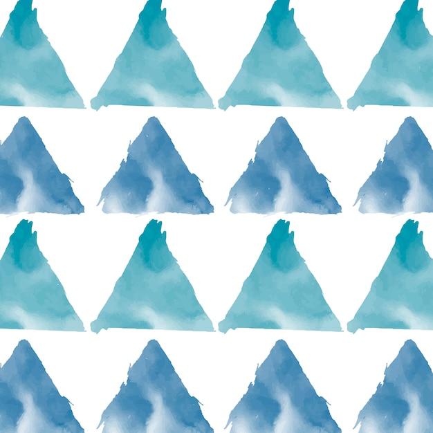 Vettore pastello del fondo dell'acquerello di verde blu Vettore gratuito