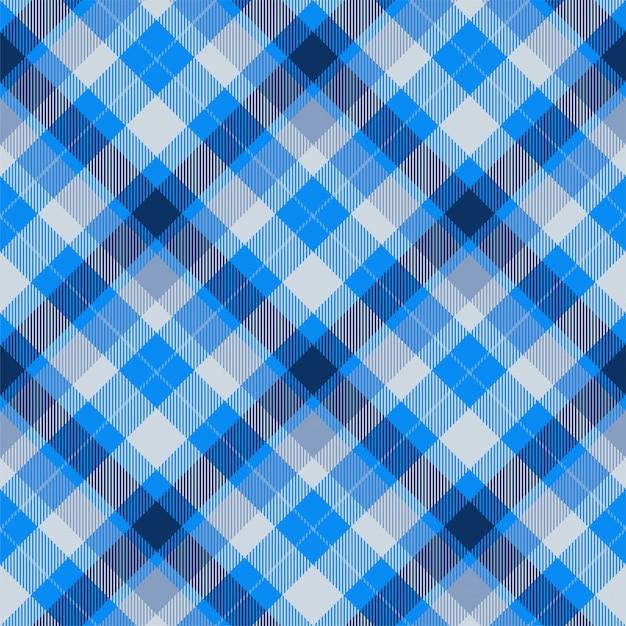 Vettore senza cuciture del modello del plaid di scozia scozzese. tessuto di fondo retrò. struttura geometrica quadrata di colore di controllo dell'annata. Vettore Premium
