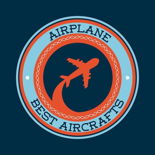 Viaggio in aereo Vettore Premium