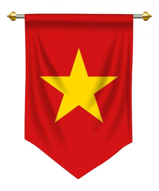 Vietnam pennant Vettore Premium