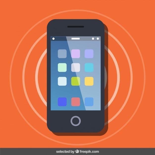 Vista schermo dello smartphone scaricare vettori gratis for Portico dello schermo prefabbricato