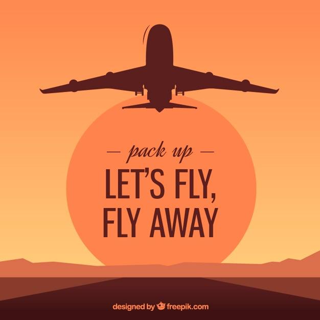 Voliamo, vola via Vettore gratuito