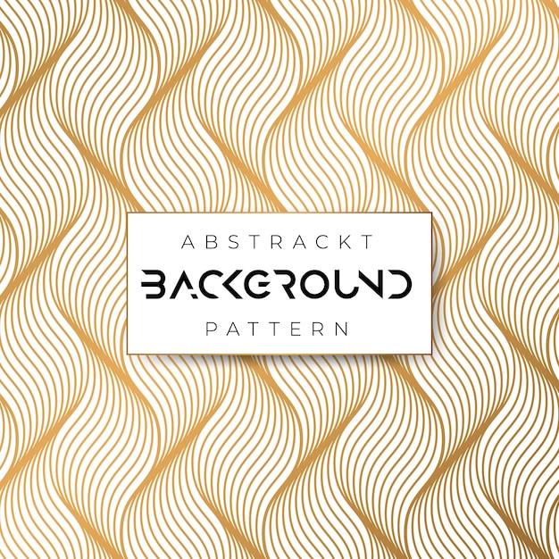 Waves abstrack pattern geometrico Vettore Premium