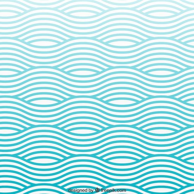 Waves modello Vettore gratuito