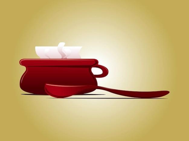 Zuppa di cucina cucina logo modello scaricare vettori gratis for Cucina logo