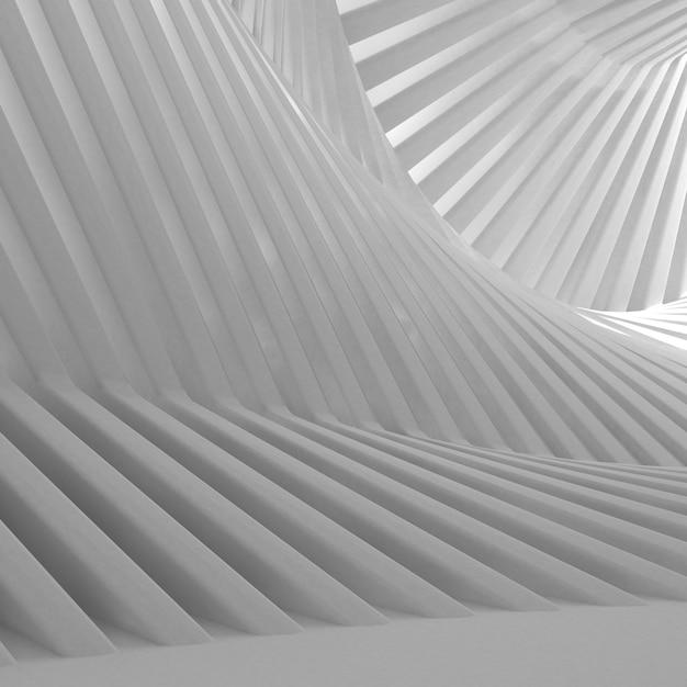 3d geometrische abstracte achtergrond Gratis Foto
