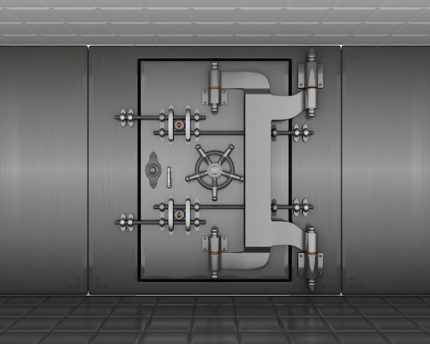 3d render van een kluis gratis foto for Rendering 3d gratis