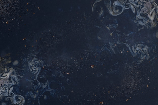 Abstract blauw schilderij Gratis Foto