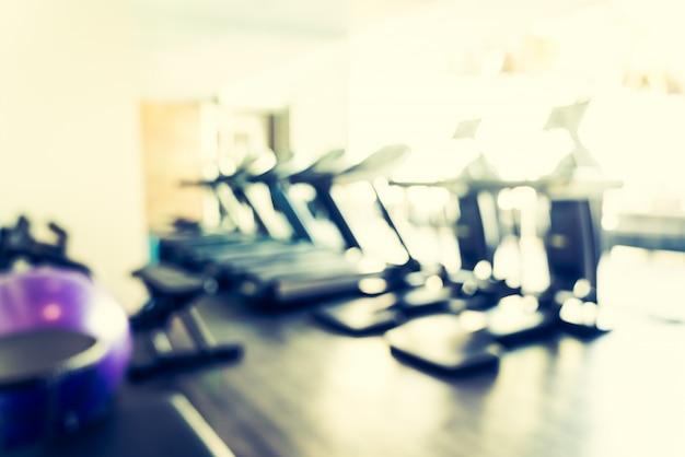 Abstract blur sportschool Gratis Foto