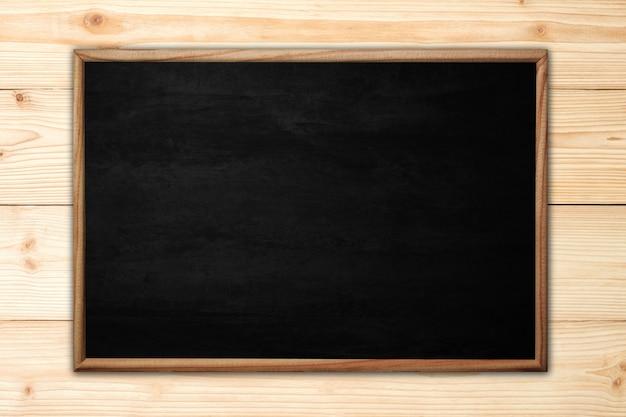 Abstract bord of bord met houten frame Premium Foto