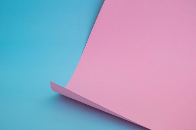Abstract kleurenpapier in geometrische vormen Premium Foto
