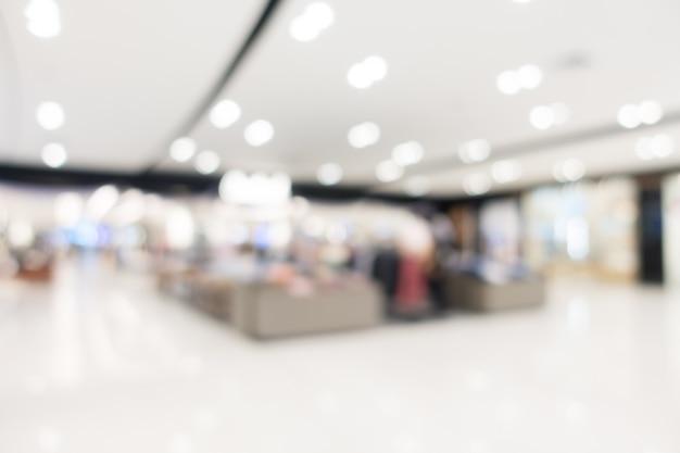 Abstract onduidelijk beeldwinkelcomplex en detailhandel Gratis Foto