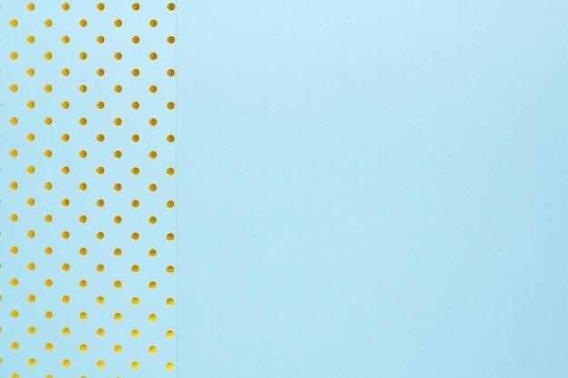 Abstracte achtergrond gemaakt met twee blauwe papier Premium Foto