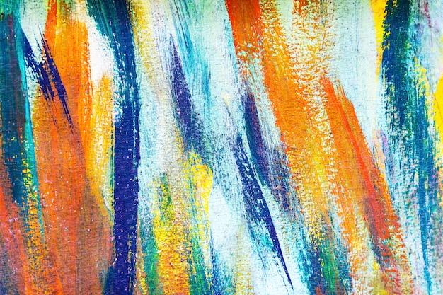 Abstracte achtergrond van kleurrijk geschilderd op betonnen muur. graffiti kunst behang. Premium Foto