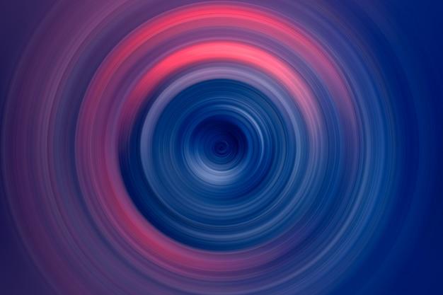 Abstracte achtergrond van kleurrijke spin circle Premium Foto