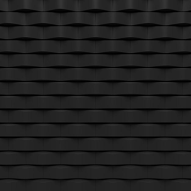 Abstracte achtergrond van moderne tegelmuur. 3d-weergave Premium Foto