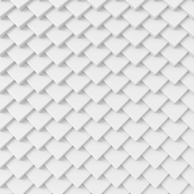 Abstracte achtergrond van moderne tegelmuur, het 3d teruggeven. Premium Foto