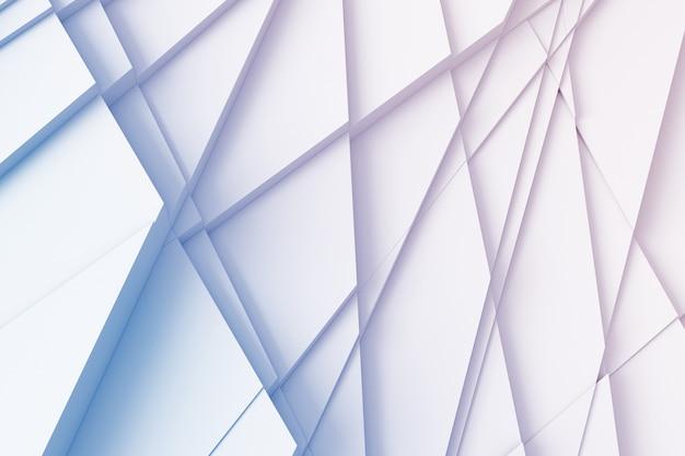 Abstracte achtergrond van rechte lijnen die de oppervlakte ontleden Premium Foto