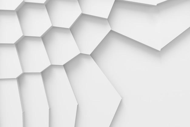 Abstracte achtergrond van rechte lijnen die het oppervlak ontleden in Premium Foto
