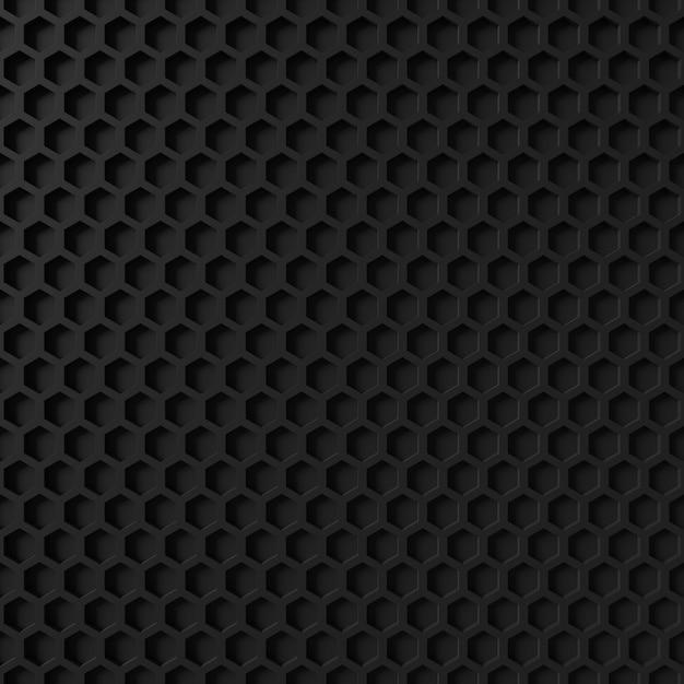 Abstracte achtergrond van zeshoekige vorm Premium Foto