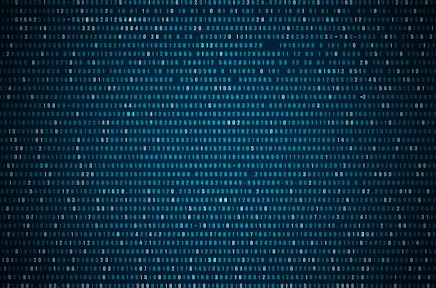 Abstracte blauwe technologie achtergrond Premium Foto