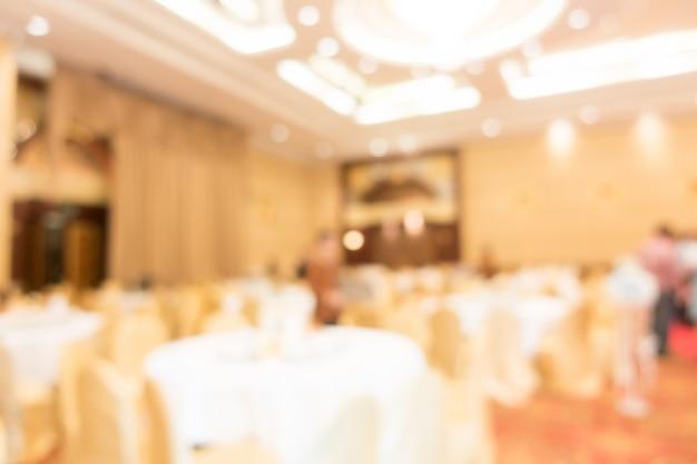 Abstracte blur bruiloftszaal Gratis Foto