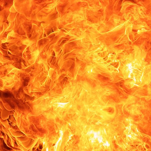 Abstracte brand vlam textuur Premium Foto