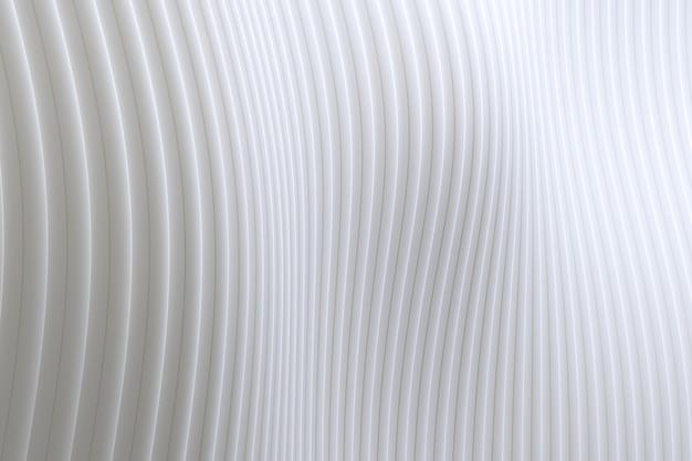Abstracte de architectuur witte achtergrond van de muurgolf, witte achtergrond voor presentatie, portefeuille, website Premium Foto