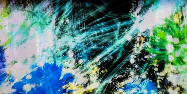 Abstracte digitale grafische met rommelige lijn. Premium Foto