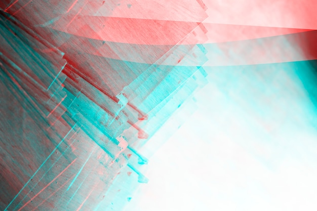 Abstracte fotokopie textuur achtergrond, kleur dubbele belichting, glitch Premium Foto