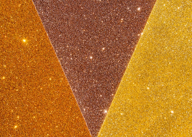Abstracte gouden textuur in gradiënt gele lichte schaduwen Gratis Foto