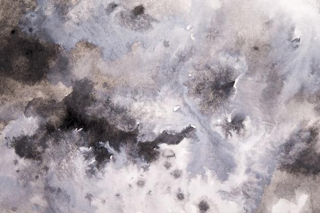 Abstracte grijze aquarel Premium Foto