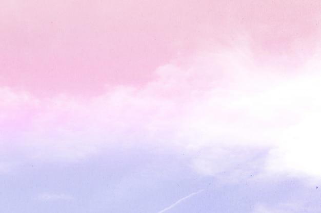 Abstracte hemelachtergrond in zoete kleur. Premium Foto